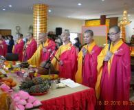 2010年供佛齋天祈福法會